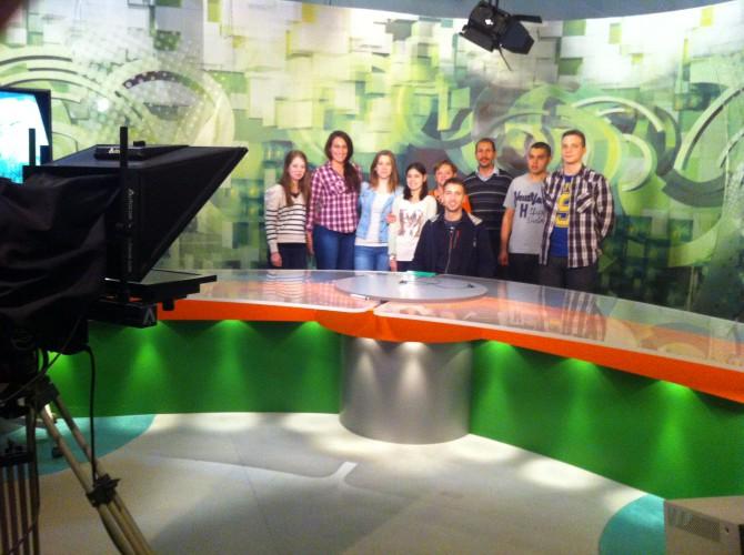A Debrecen Televíziónál jártunk...