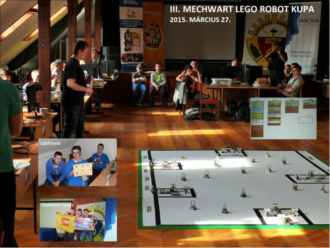 III. Mechwart Lego Robot kupa
