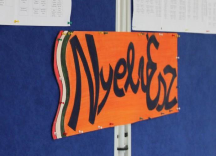 A NyelvÉSZ nemzetközi anyanyelvi tanulmányi verseny megyei döntője a Huszár Gál Iskolában
